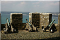 SW5129 : Defences at St.Michael's Mount by Peter Trimming
