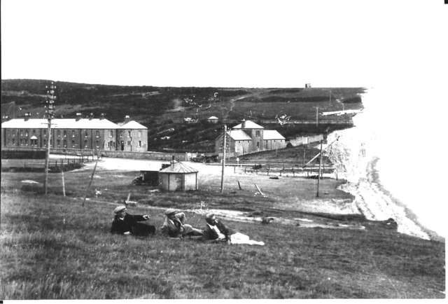 Birling Gap in about 1920