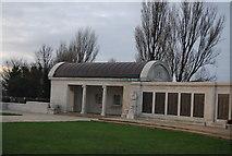 TQ7668 : Pavilion, Chatham Naval Memorial by N Chadwick