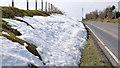 J4376 : Snow near Craigantlet crossroads (2013-1) by Albert Bridge