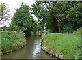 SP1867 : Former bridge site south of Lowsonford, Warwickshire by Roger  Kidd