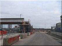 TQ3783 : Re-location of Docklands Light Railway at Marshgate Lane by David Anstiss