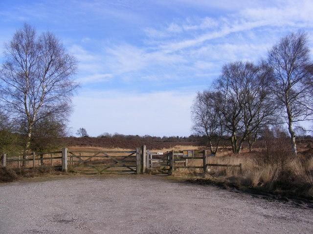 Open Access Paths over Westleton Heath