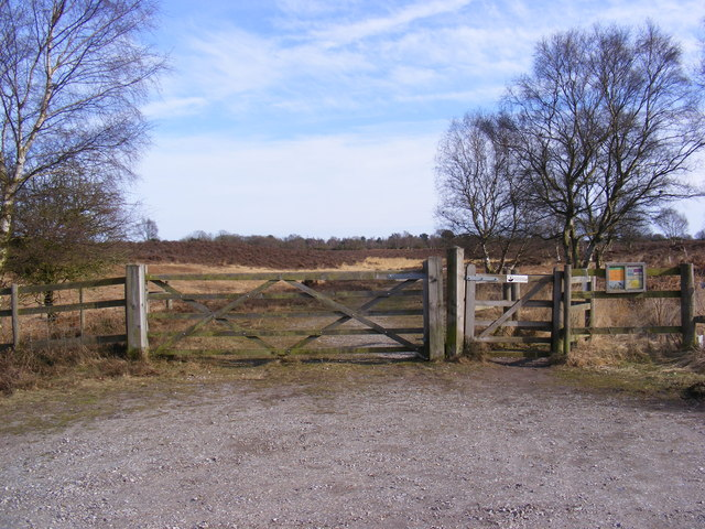 Kissing Gate & Gate at the entrance to the Open Access Path