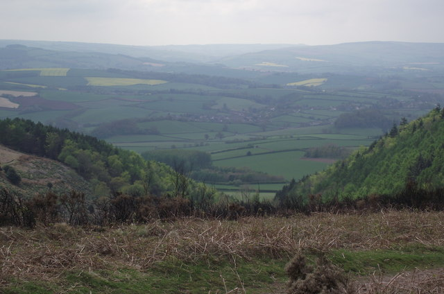 Looking down from Staple Plain