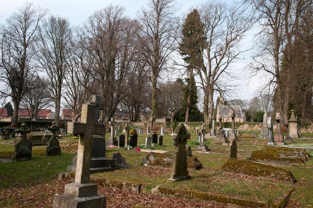 Cemetery in Barnard Castle