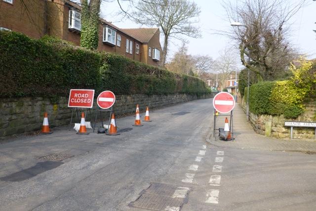 Dovecote Lane is closed