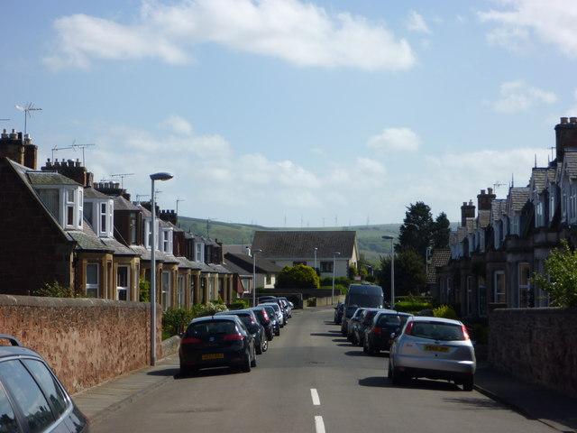 East Lothian Townscape : Letham Place, Dunbar