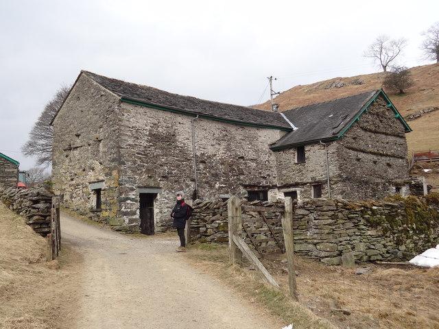 High Skelghyll farm buildings