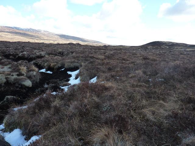 Amongst The Peat Hags On Rannoch Moor