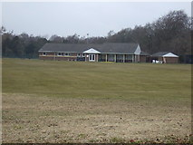 NZ2288 : Sports ground and club house, Longhirst by JThomas