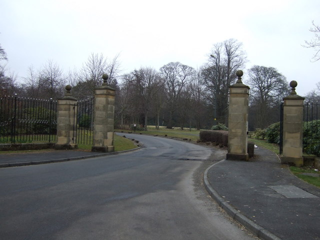 Entrance to Longhirst Hotel and Golf Club