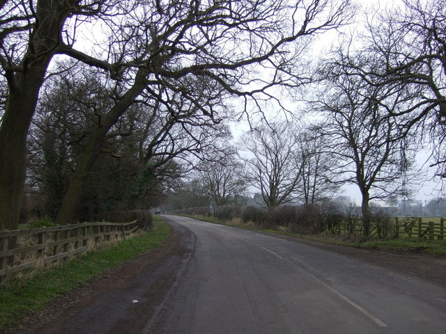 Minor road heading east, Longhirst