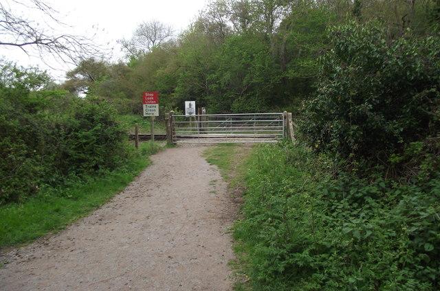 Kentsford Farm Level Crossing