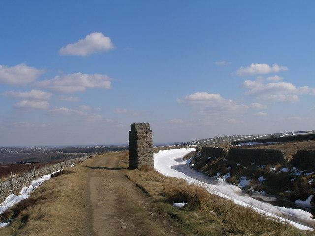 Sighting tower and conduit at White Rake