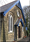 SK2666 : Rowsley - Methodist Church (from S) by Dave Bevis