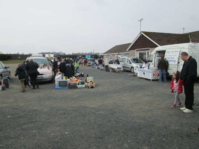 Kelso Sunday Market And Car Boot Sale C James Denham Geograph