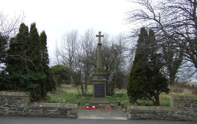Chevington and Broomhill War Memorial