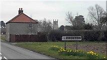 TA0912 : Welcome to Croxton by Steve  Fareham