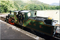 NY1700 : Bonnie Dundee at Dalegarth Station, Ravenglass and Eskdale Railway by Jo Turner