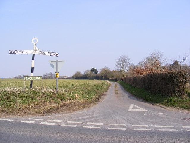 Back Lane, Barford