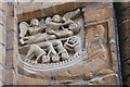 SK9771 : Restored Frieze Panel, Lincoln Cathedral by J.Hannan-Briggs