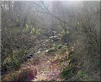 NH5857 : Ferintosh Burn by Julian Paren