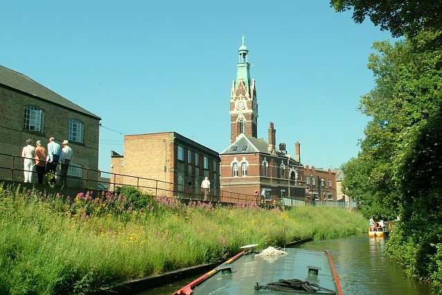 View of March Town Hall from the river