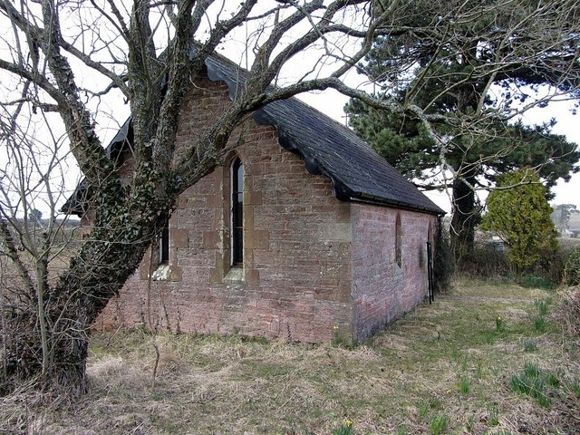 Tiny church at Bleatarn