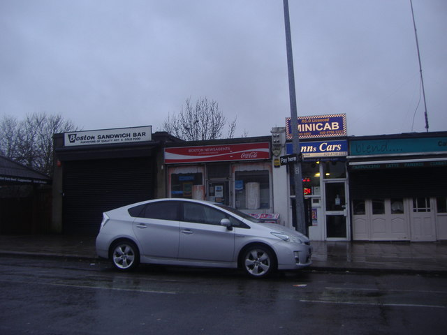 Shops near Brentford station