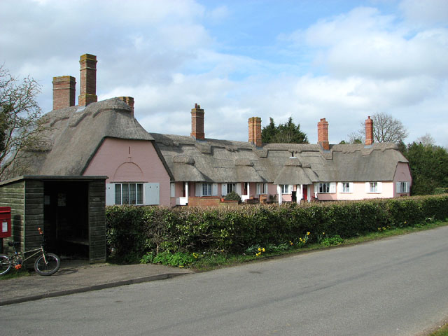 Thatched house in Homersfield