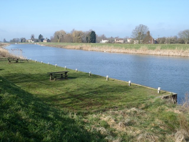 Picnic site by the Great Ouse