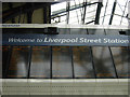 TQ3381 : Liverpool Street departures by Stephen McKay