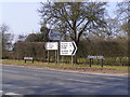 TG0704 : Roadsigns on the B1108 Station & Norwich Roads by Adrian Cable