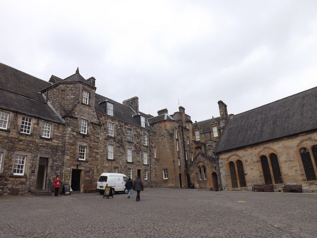 Courtyard of Stirling Castle