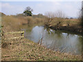 SE7972 : River Derwent, upstream view by Pauline E