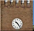 J2564 : Clock, St Paul's, Lisburn by Albert Bridge