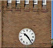 J2564 : Clock, St Paul's, Lisburn by Albert Bridge