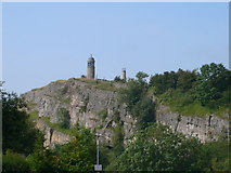 SK3455 : Crich Stand War Memorial and tower by Eirian Evans