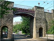 SK3455 : Bowes-Lyon Bridge, Crich Tramway museum  by Eirian Evans