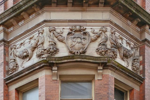 Hanover Building (detail)