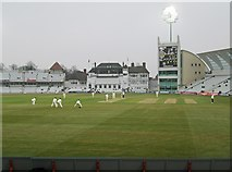SK5838 : A cold start to the 2013 cricket season by John Sutton
