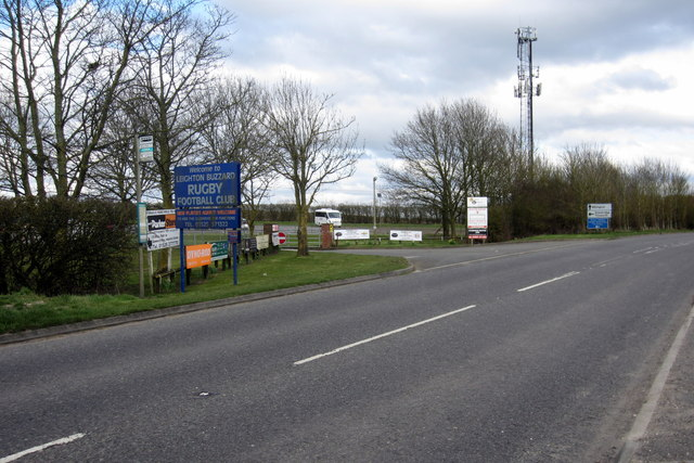 Entrance to Leighton Rugby Club