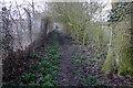 SP9424 : Footpath to Eggington by Philip Jeffrey