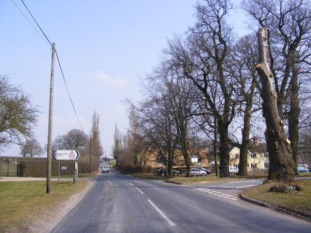B1108 Station Road, Kimberley Green