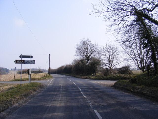 B1108 Watton Road, Marlingford