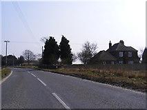 TG1507 : B1108 Watton Road & Villa San Lorenzo by Geographer