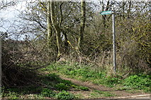 SP8925 : Public Footpath by Philip Jeffrey