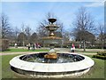 TQ2882 : Fountain in Regent's Park by Paul Gillett