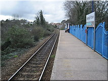 SW8132 : Falmouth Town railway station by Nigel Thompson